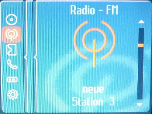 Aktueller Radiosender.