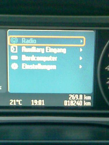 Bug in Convers+. Menüpunkt Radio ist ausgeblendet, obwohl an ist.