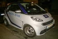 Der car2go Smart fortwo electric drive.